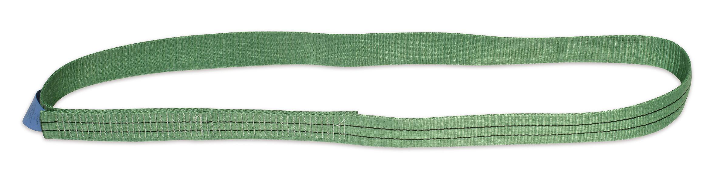 Jednovrstvý popruhový pás nekonečný, tkaný